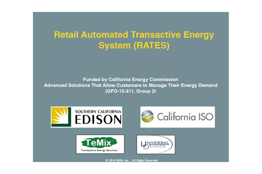 米カリフォルニアで実証中のP2P電力取引