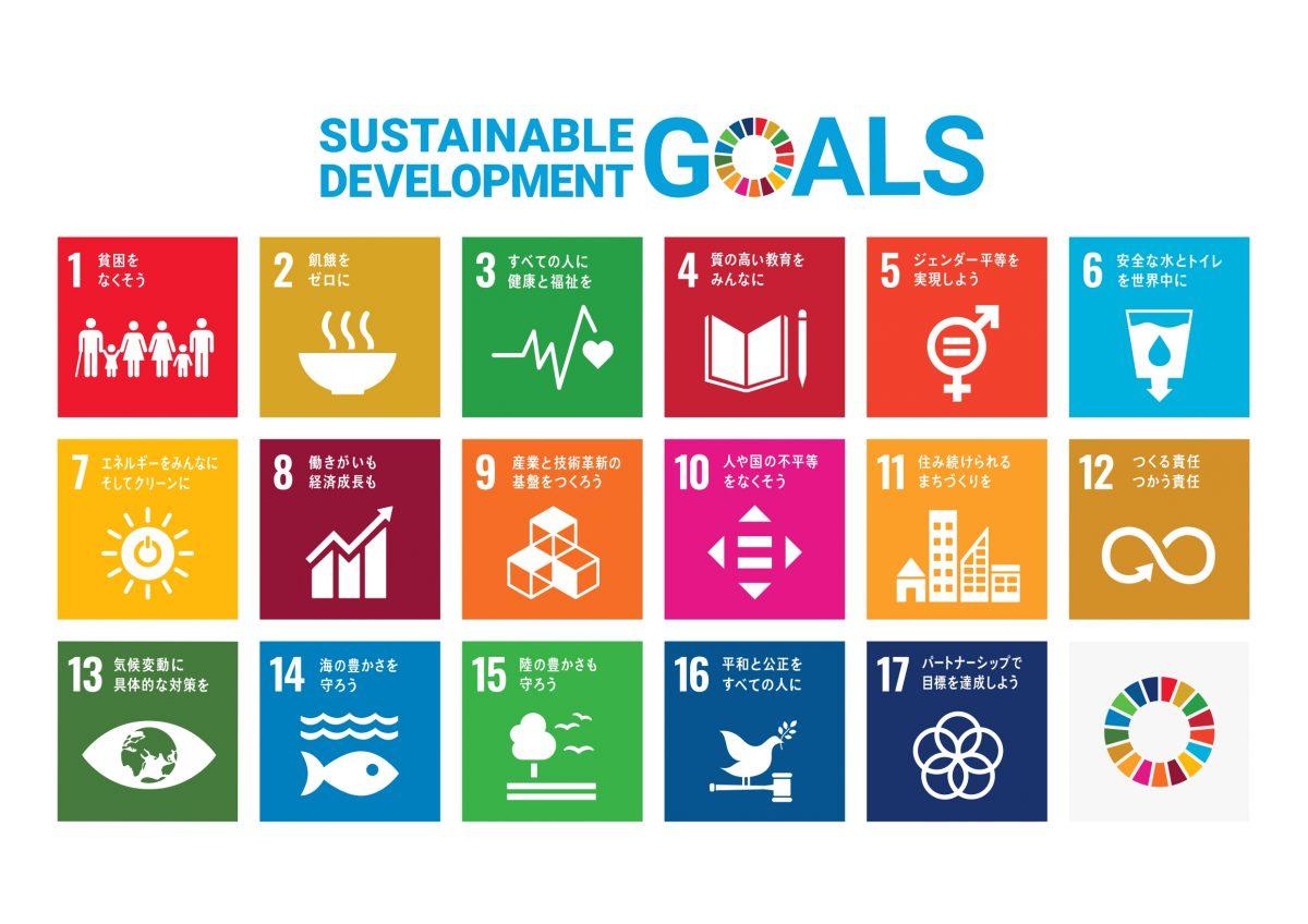 SDGs解説:相互に関連しあう17の目標